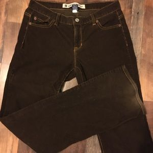 6L gap low rise boot cut corduroy Jeans